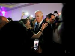 UNITED STATES   Democratic hopefuls now test strength among minority voters 1