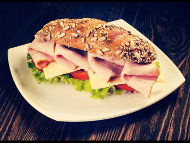 Sandwiches can be calorie dense when the condiments and type of meat is factored in. And then there is bread. Two slices, 260 calories, and we haven't added the butter yet.