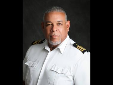 Captain Andre Smith, senior marine pilot at the Port Authority of Jamaica.
