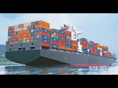 Over 90 per cent of the world's goods are transported by sea freight.
