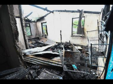 The childhood home of Bunny Wailer and Bob Marley on Second Street in Trench Town, St Andrew was destroyed by fire on Saturday morning. Damages are said to total $300,000.