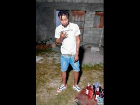 Kevon McCloud, who was slain in Church Pen, St Catherine, on Saturday evening.