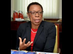 Carol Coy, director general of the Statistical Institute of Jamaica.
