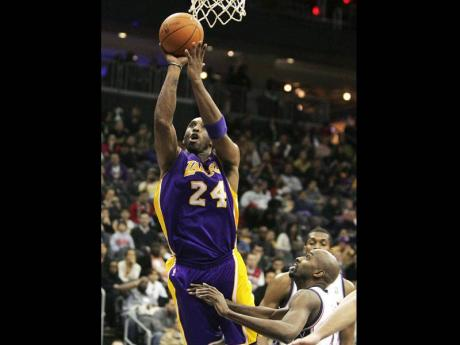 Bryant Scores 32 As Lakers Beat Nets 99 92 Sports Jamaica Gleaner
