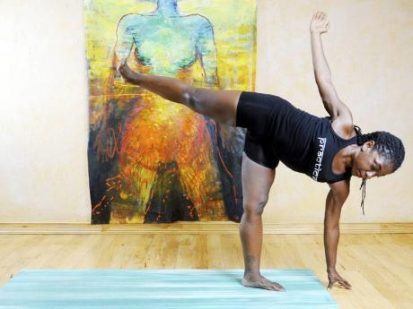 nadine mcneil  yoga keeps her focused  flair  jamaica