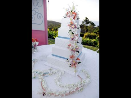 jamaica wedding cakes by rose lee and s nuptials perfection at prospect plantation 16582