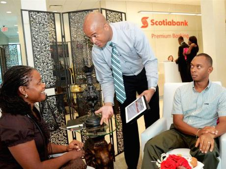 Scotiabank introduces exclusive premium service | Business | Jamaica