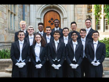 The Yale University's Whiffenpoofs.