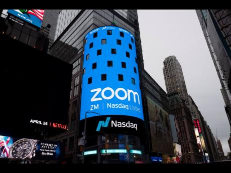 Nasdaq was ready for the Zoom IPO, Thursday, April 18, 2019, in New York.