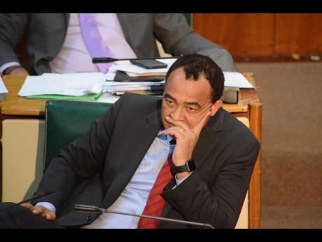Minister of Health Christopher Tufton