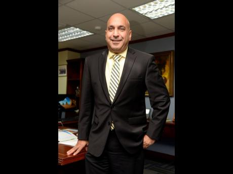 File Photos Christopher Zacca, president & CEO of Sagicor Group Jamaica.