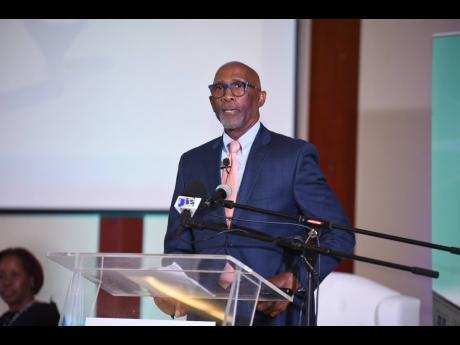 Carlton Earl Samuels, chief development financing officer at Jamaica National Group.