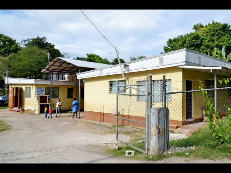 A view of the Brown's Town Health Centre in St Ann.