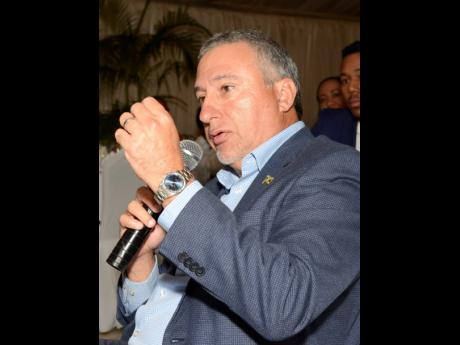 Metry Seaga, president, Jamaica Manufacturers and Exporters' Association.