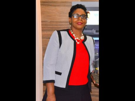Arlene Williams, vice-president of personal and business banking, First Global Bank.