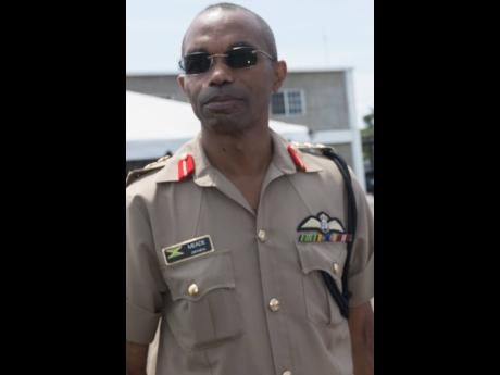 Lieutenant General Rocky Meade, chief of defence staff of the Jamaica Defence Force.
