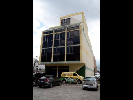The Jamaica Football Federation headquarters in St Andrew.