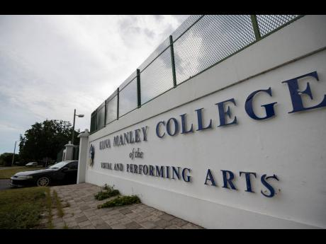 The Edna Manley College of the Visual and Performing Arts, located on Arthur Wint Drive in Kingston.