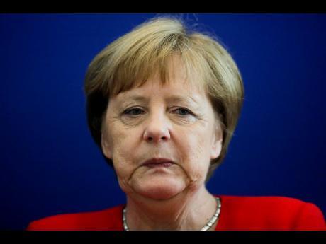 German Chancellor Angela Merkel  (AP)
