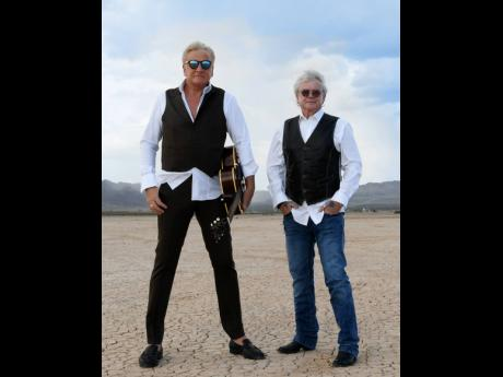 Air Supply's Graham Russell (left) and Russell Hitchcock.