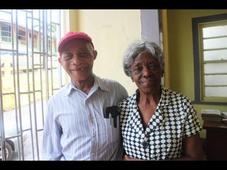 Eighty-three-year-old Mavis Gregory-Williams and 82-year-old Joseph Jolly.