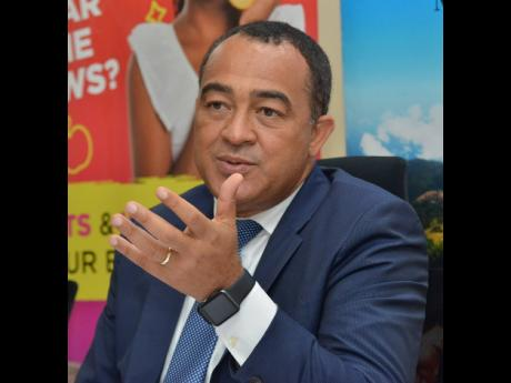 Health Minister Dr Christopher Tufton.