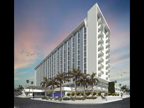 An artist's impression of the ROK Hotel, Kingston, Tapestry Collection by Hilton planned for the Kingston waterfront.