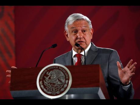Mexico's President Andrés Manuel López Obrador.