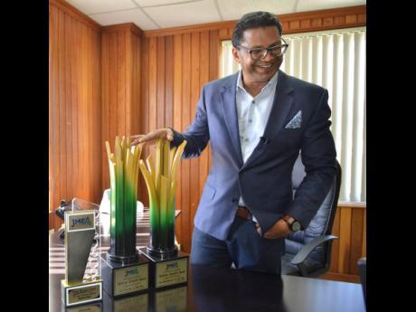 CEO of Seprod Richard Pandohie.