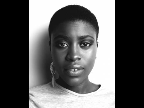 How beautiful is this black and white portrait?