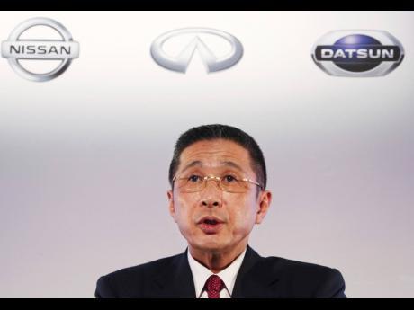 Nissan Motor Co CEO Hiroto Saikawa.
