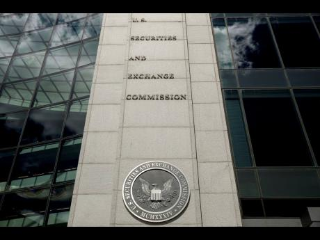 The US Securities and Exchange Commission building in Washington.