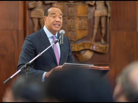 Chairman of the Economic Growth Council, Michael Lee-Chin.
