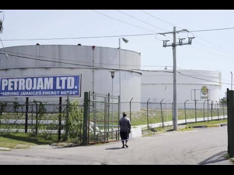 The Petrojam oil refinery in Kingston.