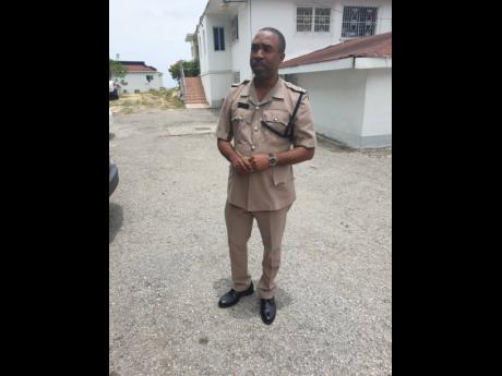 Superintendent Kirk Ricketts, commanding officer in charge of Trelawny.