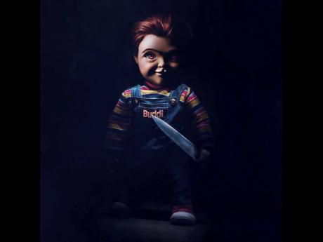 This image released by Orion Pictures shows the character Chucky from the horror film, 'Child's Play'.