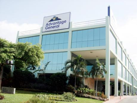 The corporate offices of Advantage General Insurance Company on Trafalgar Road in New Kingston.