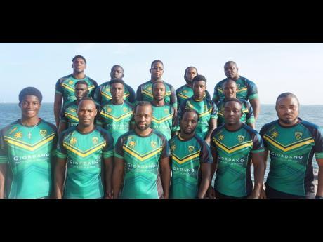 Jamaica's senior men's rugby league team, the Reggae Warriors.