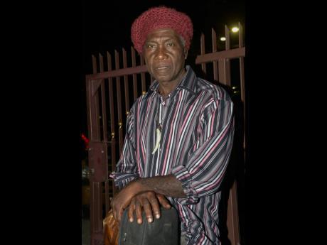 Singer and musician Ras Michael Junior.