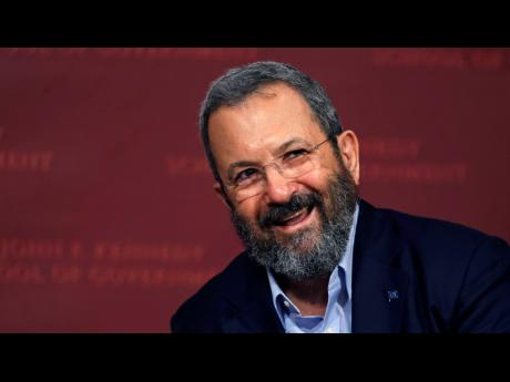 In this 2016 file photo, former Israeli Prime Minister Ehud Barak smiles during a lecture at the John F. Kennedy School of Government at Harvard University in Cambridge, Mass.  Barak announced Wednesday that he is returning to politics and is forming a new party that will aim to unseat Prime Minister Benjamin Netanyahu in upcoming elections.   (AP)