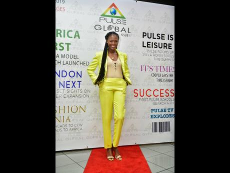 Safia at the launch of Pulse Global held recently at the Palace Cineplex, Sovereign Centre on Hope Road.
