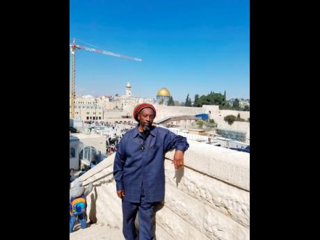 Issachar on his visit to Israel.