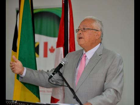Justice Minister Delroy Chuck