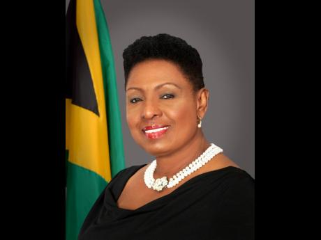 Minister of Culture, Gender and Entertainment Olivia 'Babsy' Grange
