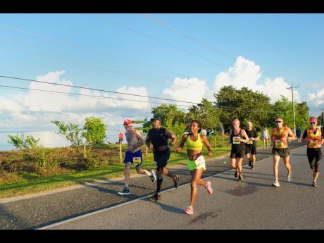 Participants in last year's Reggae Marathon on Sunday, December 2.