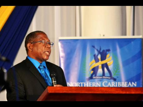 Dr Lincoln Edwards, president, NCU.
