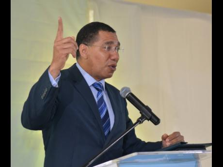 Prime Minister Andrew Holness has been too soft on corruption, a letter writer asserts.