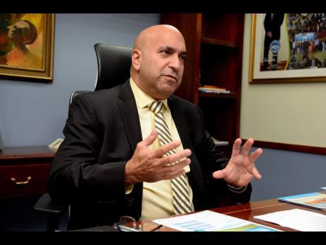 Christopher Zacca, President & CEO of Sagicor Group Jamaica.