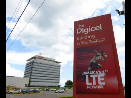 The Digicel Group regional headquarters on the Kingston waterfront.