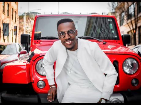 Gospel singer Omari.